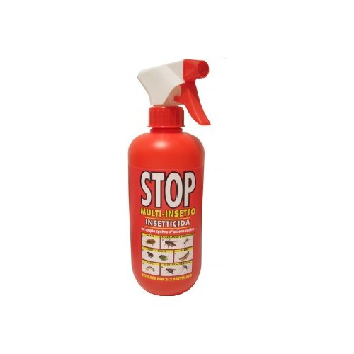Johnson Wax Spray Vapo STOP Conter 375ml. 408212 JohnsoInsetticida Multi insetto STOP con vaporizzatore ml 375