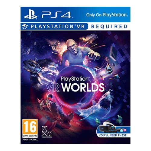 SONY PS4 WORLDS Sony Entertainment Sw Ps4 9855057 VR Worlds VR