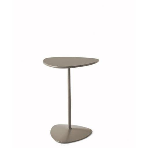 Connubia Calligaris CB/5061-B_P15_P15 <b> Tavolino Islands Cb/5061-B Base P15 Fin. Nero Opaco Piano P15 Lac. Nero Opaco </b>