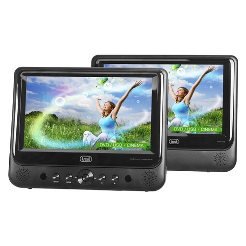 TREVI 0700500 DVD Player Portable 2 Display TW 7005