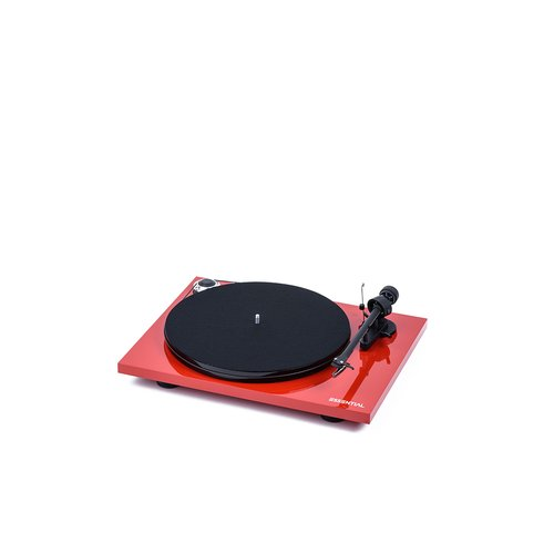 Pro-Ject Giradis.Pro-Ject Essential III Rosso Pro-Ject Essential III. Tipo alimentazione: dC, Consumi: 4,5 W