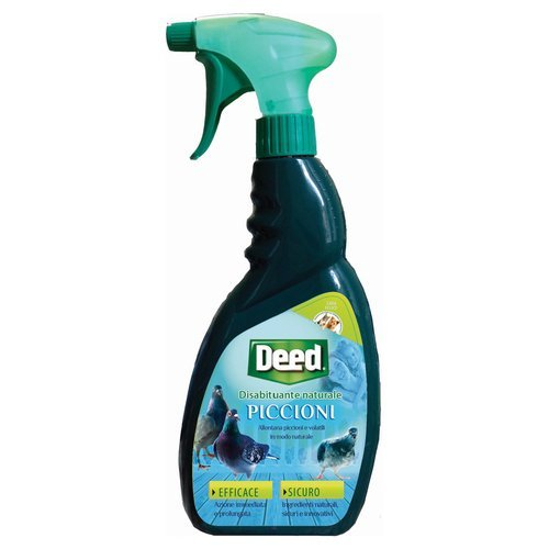 Landen DEED REPELLENTE PICCIONI Repellente disabituante naturale liquido per Piccioni con vaporizzatore Spray 750 ml
