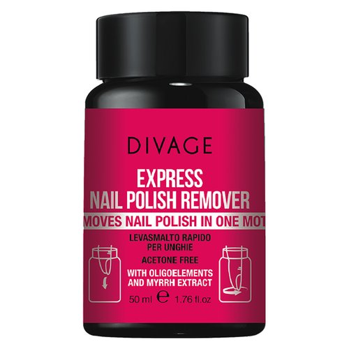 Divage Divage – express nail polish remover 50 ml – express nail polish remover 50 ml