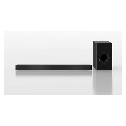 PANASONIC Soundbar SC-HTB510EGK BT Chromecast 240W Panasonic SC-HTB510. Sistema audio: 2.1 canali, Potenza in uscita (RMS): 240 W, Formato audio integrato: DTS Digital Surround,Dolby Digital. Potenza RMS dell'altoparlante soundbar: 240 W. Woofer diameter (subwoofer): 16 cm (6.3
