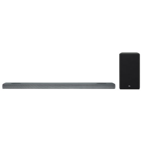 LG Soundbar SL9YG 4.1.2 500w WiFi DbAtm GA LG SL9YG. Sistema audio: 4.1.2 canali, Potenza in uscita (RMS): 500 W, Formato audio integrato: DTS Digital Surround,DTS-HD HR,DTS-HD Master Audio,DTS:X,Dolby Atmos,Dolby Digital,Dolby Digital.... Potenza RMS dell'altoparlante soundbar: 50 W, Impedenza: 4 Ω, Diametro del woofer: 6,1 cm (2.4