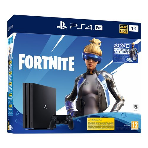 Cons. 9941705 Ps4 PRO Bk 1TB G+Fortnite