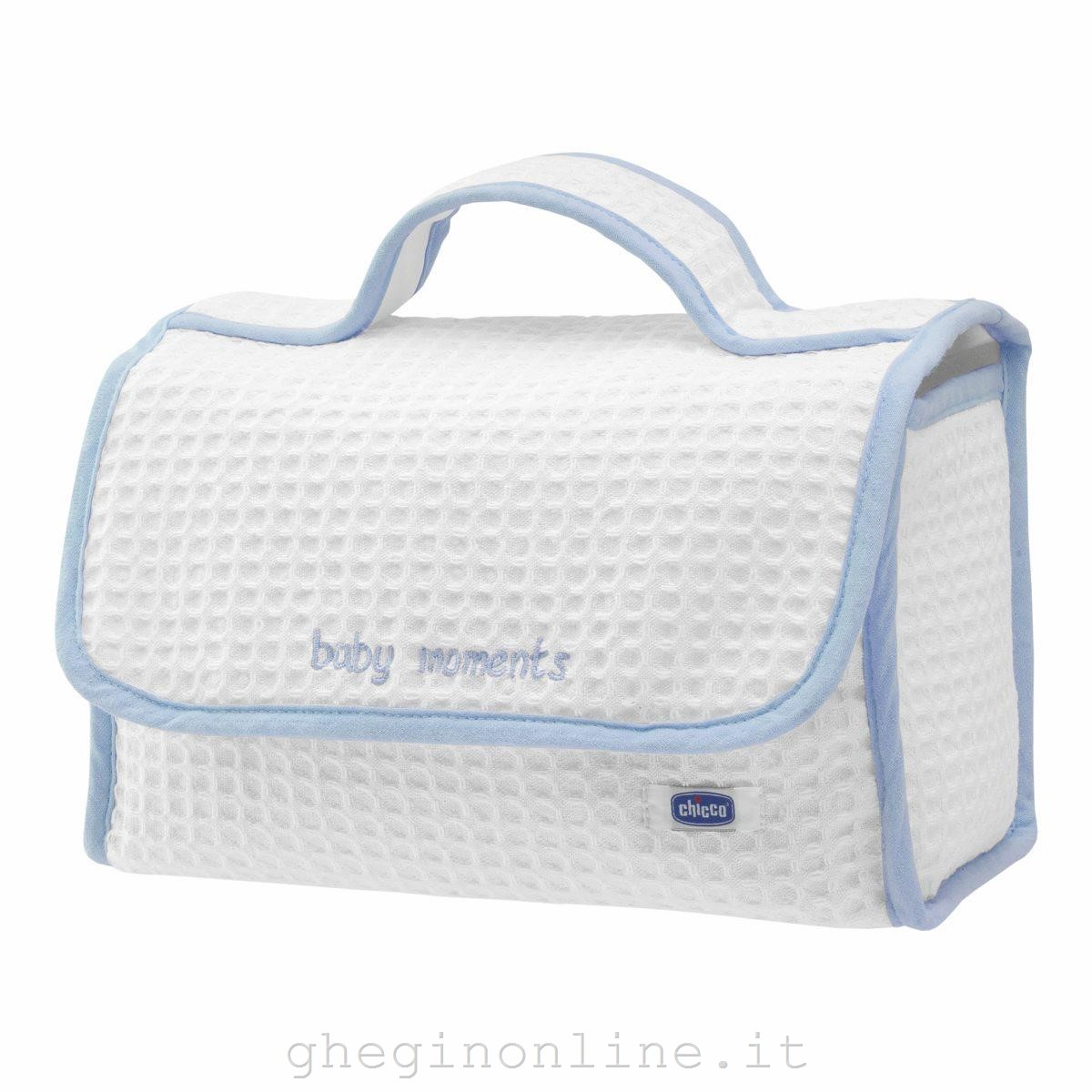 CHICCO 8033828710280Chicco Baby Moments Set, Blu