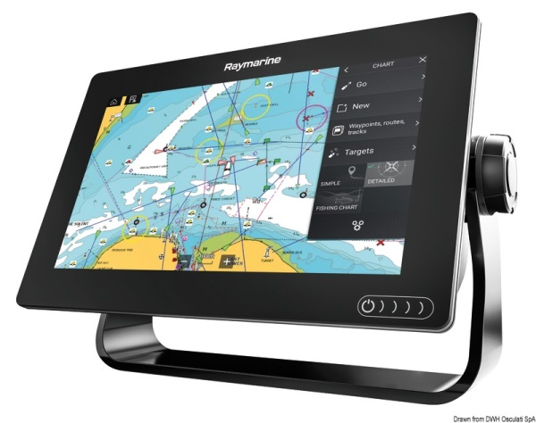 Osculati 29.704.09 Display multifunzione touchscreen Axiom 9